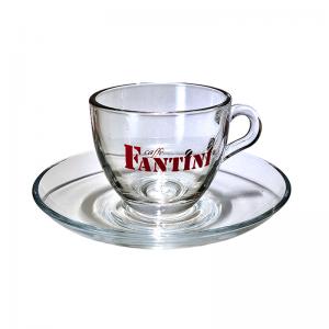 Fantini Espresso Glastassen